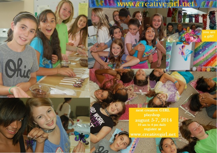 creative girl collage summer 2014 aug
